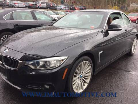 2016 BMW 4 Series for sale at J & M Automotive in Naugatuck CT