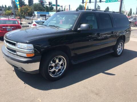 2006 Chevrolet Suburban for sale at Chuck Wise Motors in Portland OR