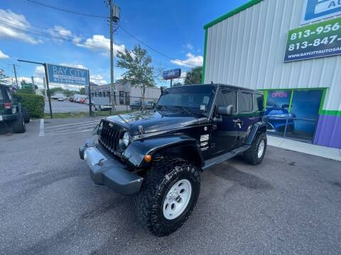 2015 Jeep Wrangler Unlimited for sale at Bay City Autosales in Tampa FL
