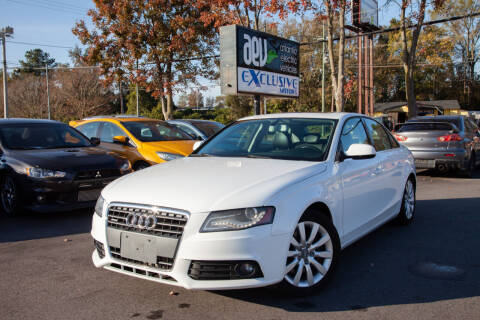 2010 Audi A4 for sale at EXCLUSIVE MOTORS in Virginia Beach VA