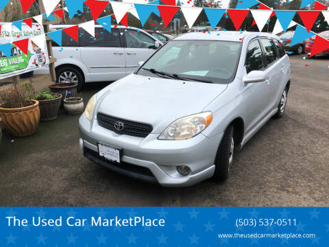 2006 Toyota Matrix for sale at The Used Car MarketPlace in Newberg OR