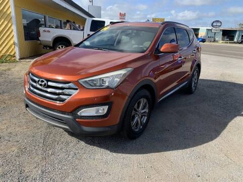 2014 Hyundai Santa Fe Sport for sale at THE COLISEUM MOTORS in Pensacola FL