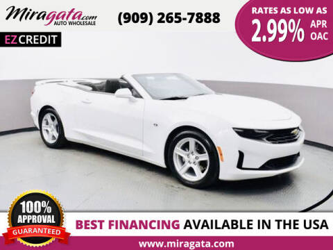 2019 Chevrolet Camaro for sale at Miragata Auto in Bloomington CA