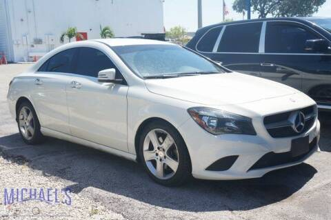 2016 Mercedes-Benz CLA for sale at Michael's Auto Sales Corp in Hollywood FL