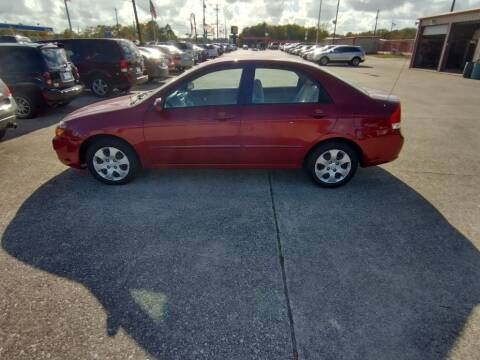 2009 Kia Spectra for sale at BIG 7 USED CARS INC in League City TX