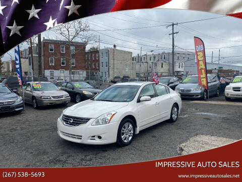 2012 Nissan Altima for sale at Impressive Auto Sales in Philadelphia PA