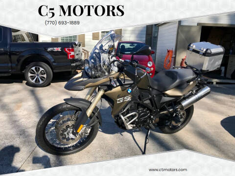 2014 BMW F800GS for sale at C5 Motors in Marietta GA