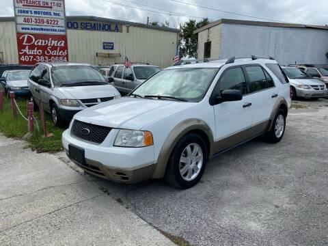 2005 Ford Freestyle for sale at DAVINA AUTO SALES in Orlando FL