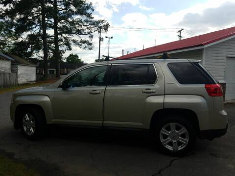 2014 GMC Terrain for sale at Rocky Mount Motors in Battleboro NC
