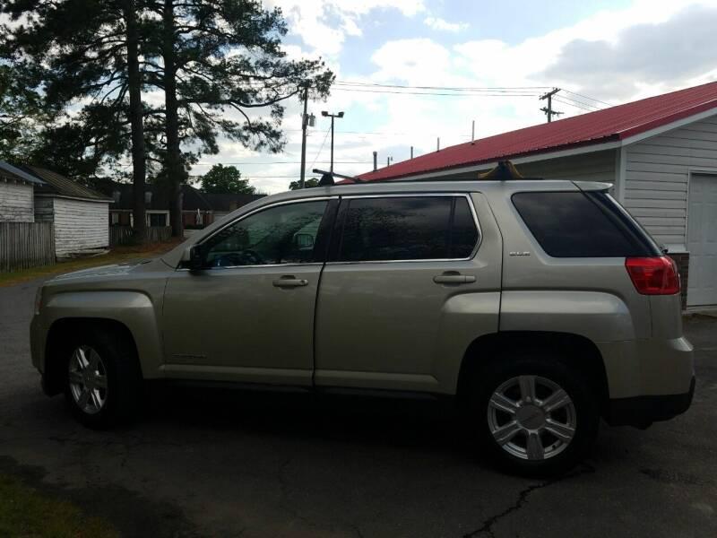 2014 GMC Terrain for sale at Rocky Mount Motors in Battleboro NC