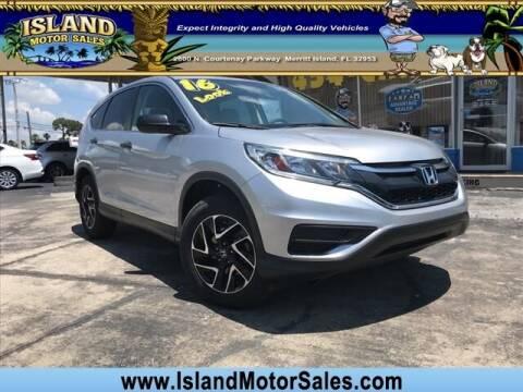 2016 Honda CR-V for sale at Island Motor Sales Inc. in Merritt Island FL