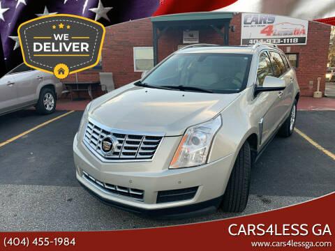 2013 Cadillac SRX for sale at Cars4Less GA in Alpharetta GA
