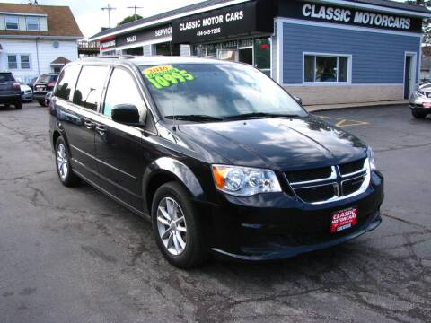 2016 Dodge Grand Caravan for sale at CLASSIC MOTOR CARS in West Allis WI