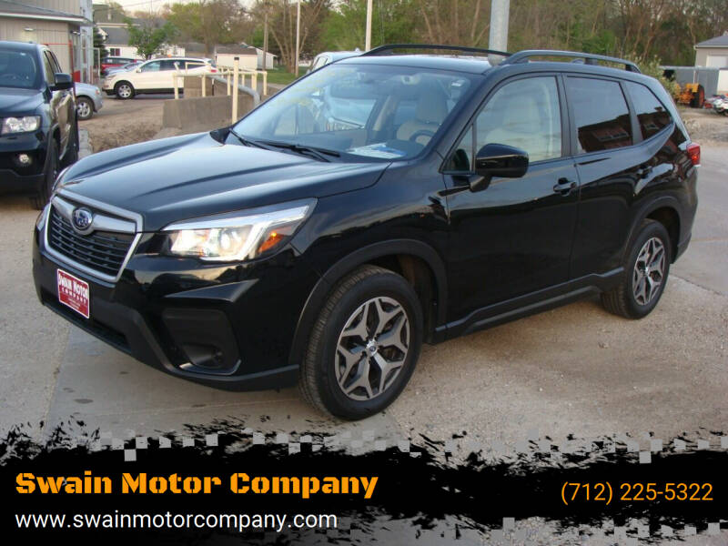 2020 Subaru Forester for sale at Swain Motor Company in Cherokee IA