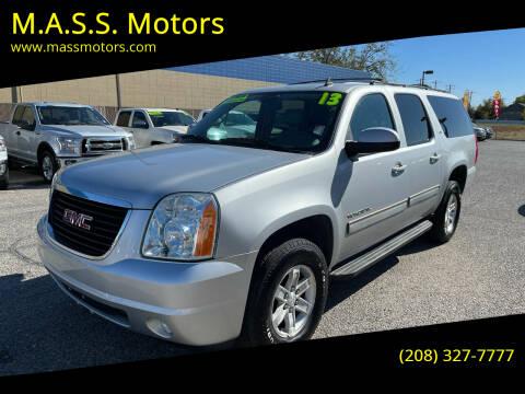 2013 GMC Yukon XL for sale at M.A.S.S. Motors - MASS MOTORS in Boise ID