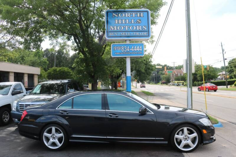 2013 Mercedes-Benz S-Class for sale at North Hills Motors in Raleigh NC