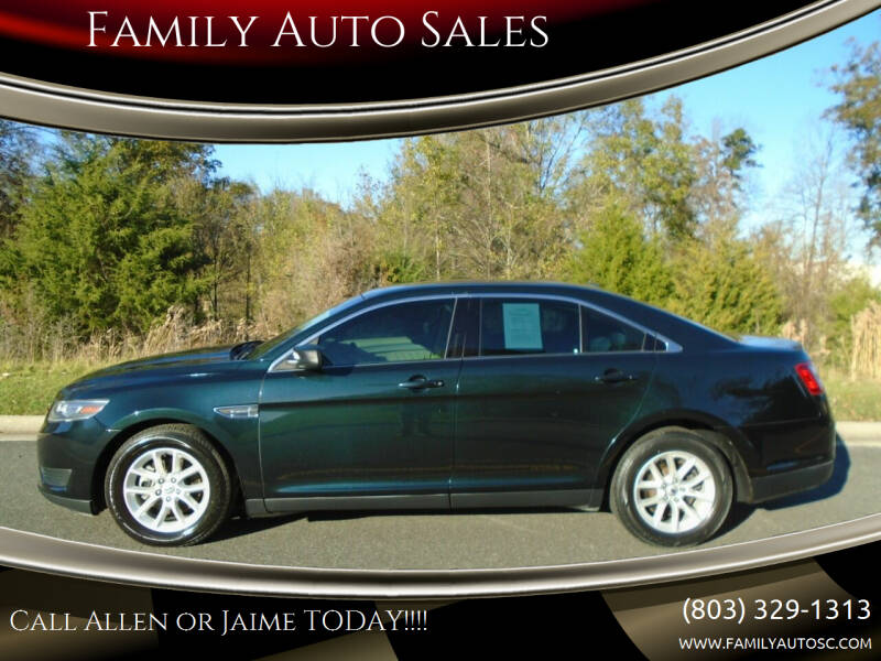 2014 Ford Taurus for sale at Family Auto Sales in Rock Hill SC