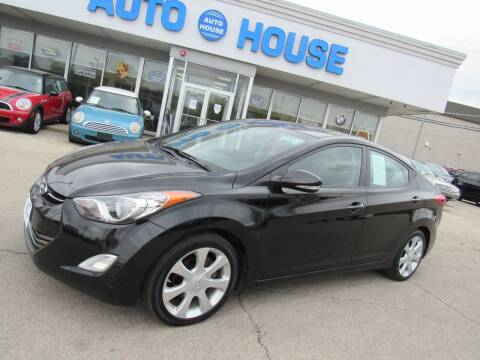 2012 Hyundai Elantra for sale at Auto House Motors in Downers Grove IL