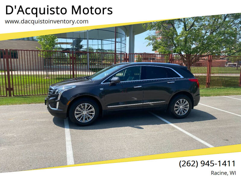 2018 Cadillac XT5 for sale at D'Acquisto Motors in Racine WI