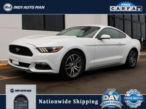 2016 Ford Mustang for sale at INDY AUTO MAN in Indianapolis IN