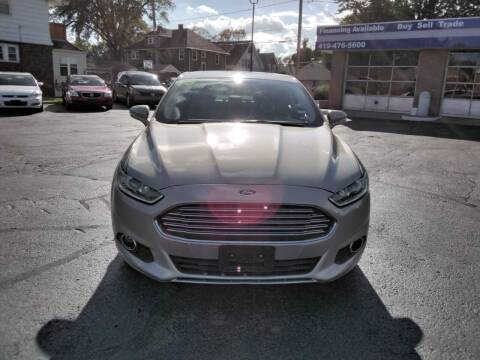 2015 Ford Fusion for sale at DTH FINANCE LLC in Toledo OH