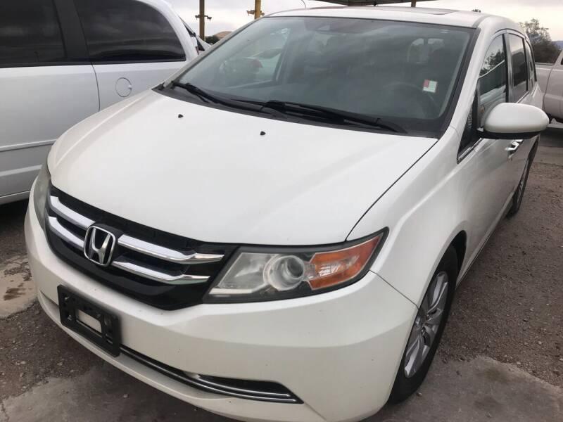 2014 Honda Odyssey for sale at Fiesta Motors Inc in Las Cruces NM