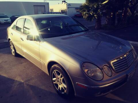 2003 Mercedes-Benz E-Class for sale at AllanteAuto.com in Santa Ana CA