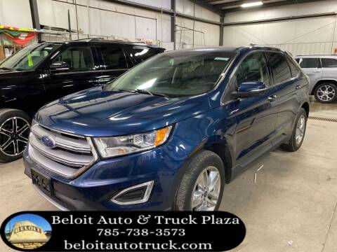 2017 Ford Edge for sale at BELOIT AUTO & TRUCK PLAZA INC in Beloit KS