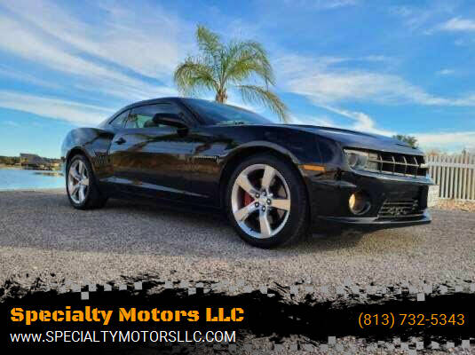 2010 Chevrolet Camaro for sale at Specialty Motors LLC in Land O Lakes FL