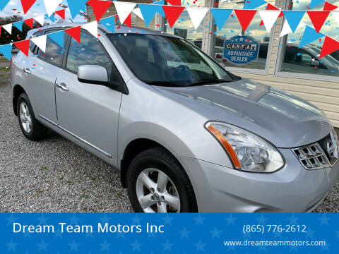 2013 Nissan Rogue for sale at Dream Team Motors Inc in Seymour TN