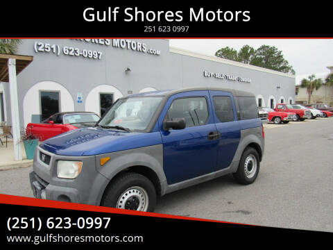 2004 Honda Element for sale at Gulf Shores Motors in Gulf Shores AL