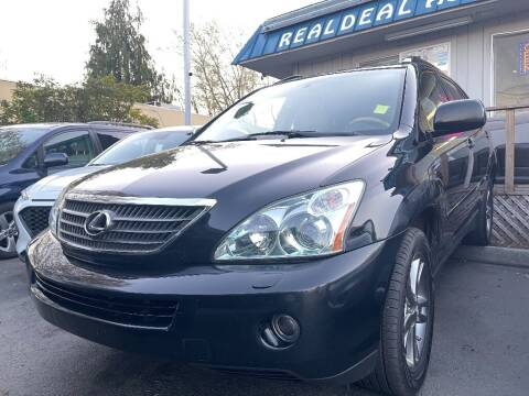 2007 Lexus RX 400h for sale at Real Deal Cars in Everett WA