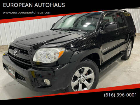 2006 Toyota 4Runner for sale at EUROPEAN AUTOHAUS in Holland MI