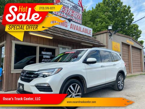 2018 Honda Pilot for sale at Oscar's Truck Center, LLC in Houston TX