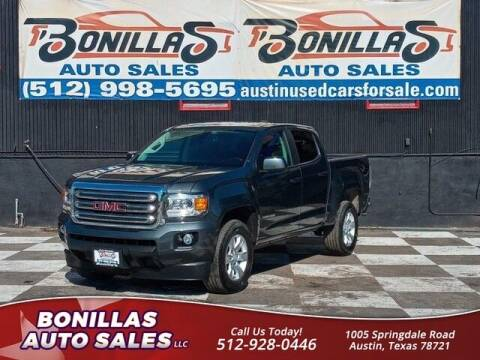 2017 GMC Canyon for sale at Bonillas Auto Sales in Austin TX