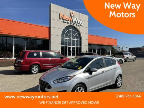 2019 Ford Fiesta for sale at New Way Motors in Ferndale MI