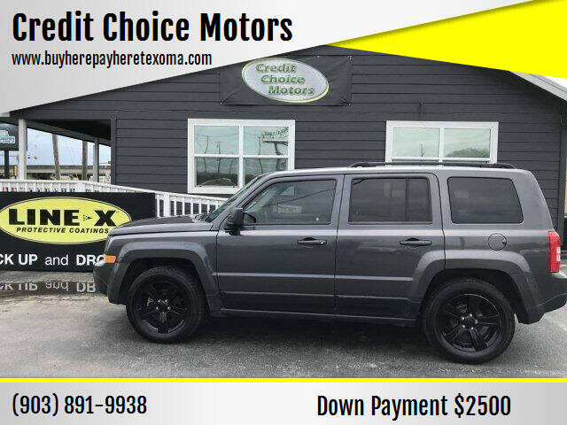 2015 Jeep Patriot for sale at Credit Choice Motors in Sherman TX