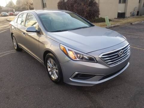 2017 Hyundai Sonata for sale at Red Rock's Autos in Denver CO