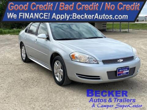 2013 Chevrolet Impala for sale at Becker Autos & Trailers in Beloit KS