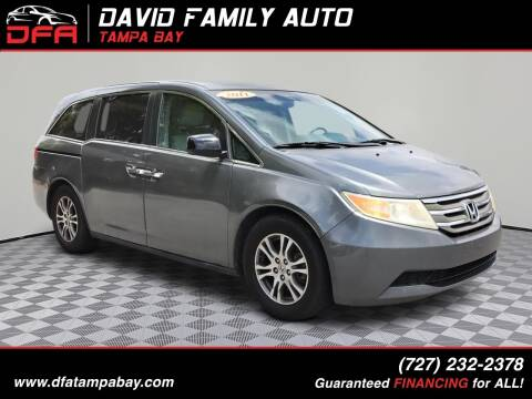 2011 Honda Odyssey for sale at David Family Auto in New Port Richey FL
