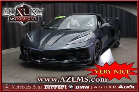 2020 Chevrolet Corvette for sale at Luxury Motorsports in Phoenix AZ