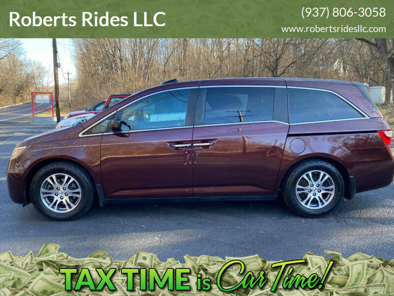 2012 Honda Odyssey for sale at Roberts Rides LLC in Franklin OH