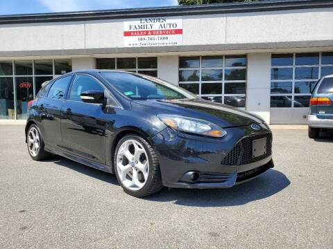 2013 Ford Focus for sale at Landes Family Auto Sales in Attleboro MA