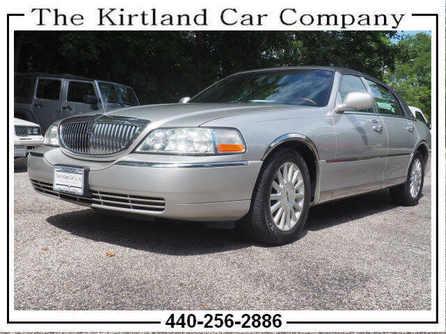 2003 Lincoln Town Car for sale at Kirtland Car Company in Kirtland OH