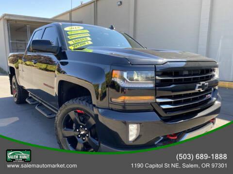 2018 Chevrolet Silverado 1500 for sale at Salem Auto Market in Salem OR