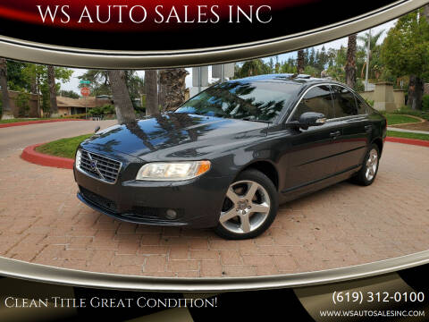 2009 Volvo S80 for sale at WS AUTO SALES INC in El Cajon CA