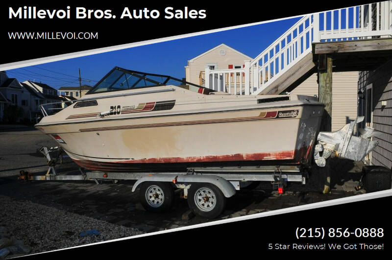1985 SportCraft 210 Fisherman for sale at Millevoi Bros. Auto Sales in Philadelphia PA