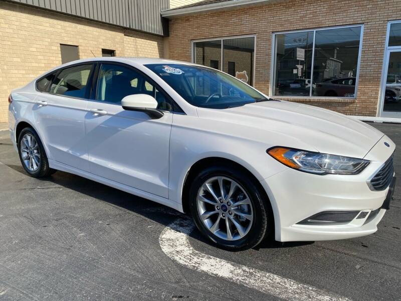 2017 Ford Fusion for sale at C Pizzano Auto Sales in Wyoming PA