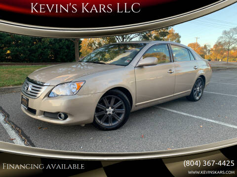 2009 Toyota Avalon for sale at Kevin's Kars LLC in Richmond VA
