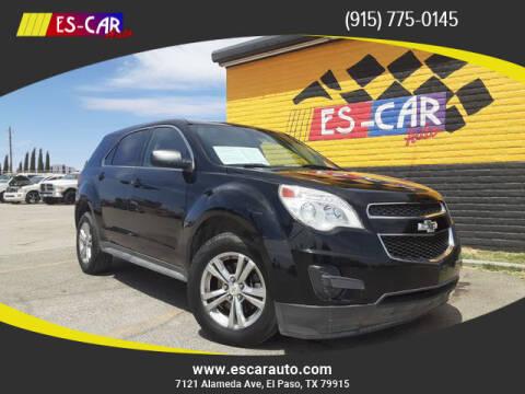 2014 Chevrolet Equinox for sale at Escar Auto in El Paso TX